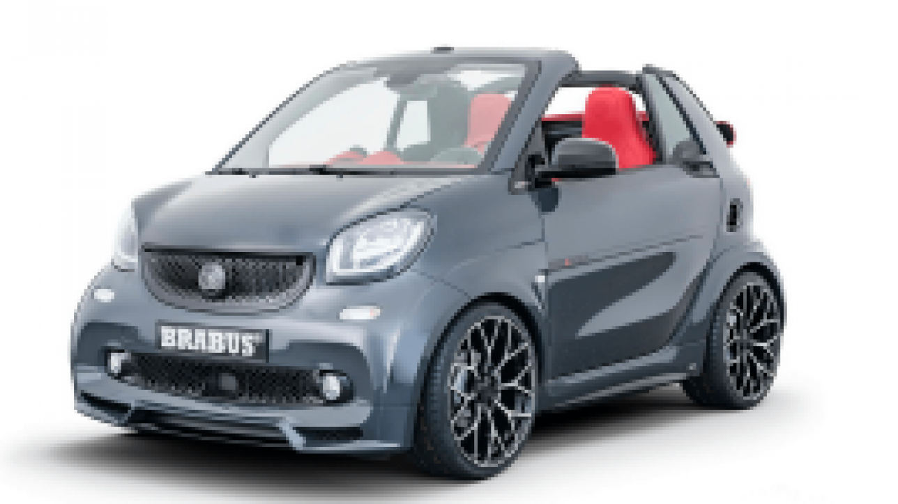brabus zeigt tuning version des smart eq fortwo cabrio. Black Bedroom Furniture Sets. Home Design Ideas